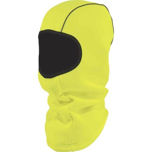 Ergodyne N-Ferno 6821 Balaclava Face Mask - Fleece - Polyester - Lime