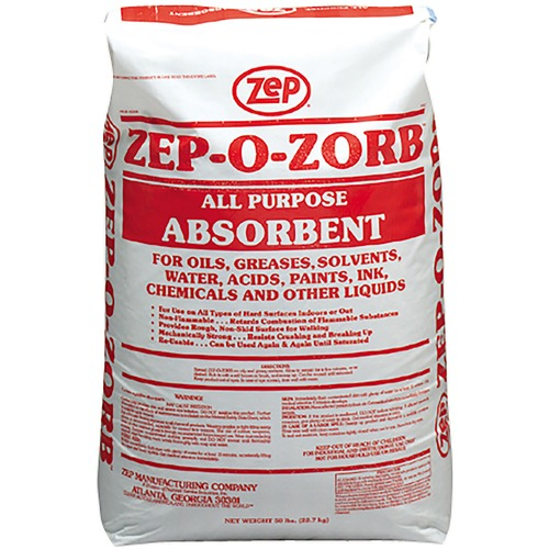 Zep Zep-O-Zorb All Purpose Absorbent - 1Each - Light Gray Brown
