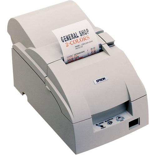 Epson TMU220B-603-receipt printer-two-color-dot-matrix-6 lines/sec-17.8 cpi-Seri