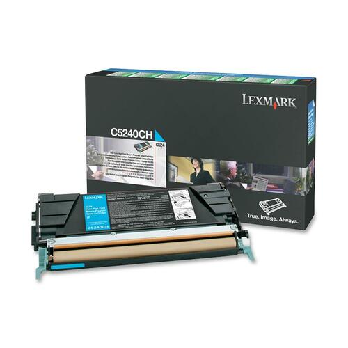 Lexmark Cyan High Yield Return Program Toner Cartridge