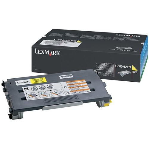 Toner Cartridge - Yellow - 3000 pages at 5% coverage - for Lexmark C500n