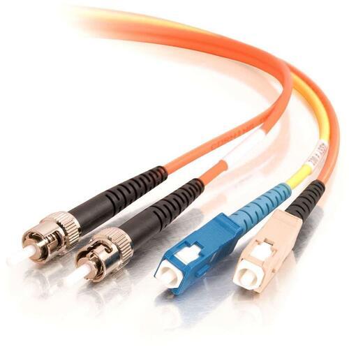 C2G 1m SC/ST 62.5/125 Mode-Conditioning Fiber Patch Cable | Orange