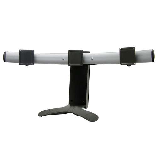 Triple Display Lift Stand - Black - screen size: up to 21 - mounting interface: