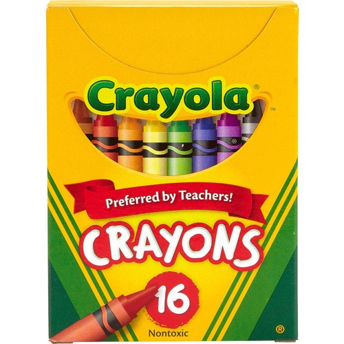 Crayola Tuck Box 16 Crayons - Assorted
