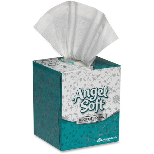 Angel Soft Professional Series Facial Tissue by GP Pro in Cube Box
