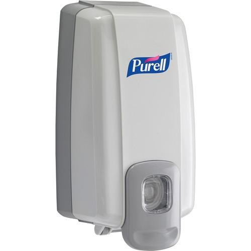 PURELL® NXT Hand Sanitizer Dispenser - Manual - 100 mL Capacity - Dove Gray - 1Each
