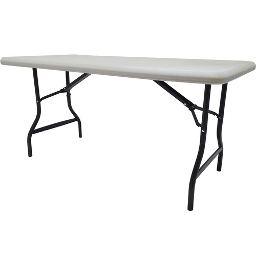 """Iceberg IndestrucTable TOO 1200 Series Folding Table - Rectangle Top - 30"""" Table Top Length x 60"""" Table Top Width x 1"""" Table Top Thickness - 29"""" Heigh"""