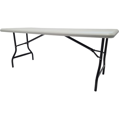 """Iceberg IndestrucTable TOO 1200 Series Folding Table - Rectangle Top - 72"""" Table Top Length x 30"""" Table Top Width x 1"""" Table Top Thickness - 29"""" Heigh"""