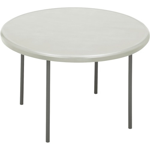 """Iceberg IndestrucTable TOO 1200 Series Round Folding Table - Round Top - 1"""" Table Top Thickness x 48"""" Table Top Diameter - 29"""" Height - Assembly Requi"""