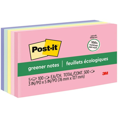 Post-it Greener Notes - Helsinki Color Collection - 3
