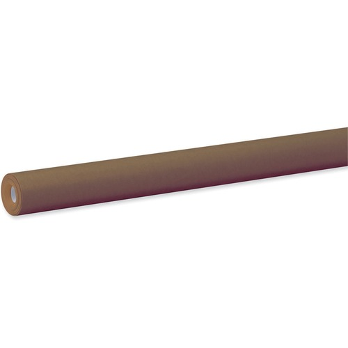 """Fadeless Bulletin Board Art Paper - ClassRoom Project, Home Project, Office Project - 48"""" (1219.20 mm)Width x 50 ft (15240 mm)Length - 1 / Roll - Brown"""
