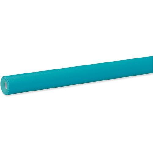 "Fadeless Bulletin Board Art Paper - ClassRoom Project, Home Project, Office Project - 48"" (1219.20 mm)Width x 50 ft (15240 mm)Length - 1 / Roll - Azure Blue"