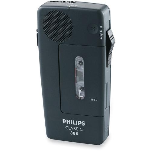 Philips Speech PM388 Pocket Memo Recorder - Headphone - Portable