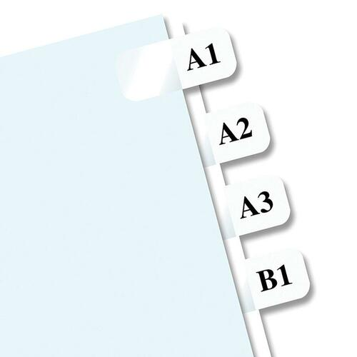 graphic regarding Printable Self Adhesive Tabs identified as Redi-Tag Laser Printable Index Tabs - 675 Blank Tab(s) - 1\