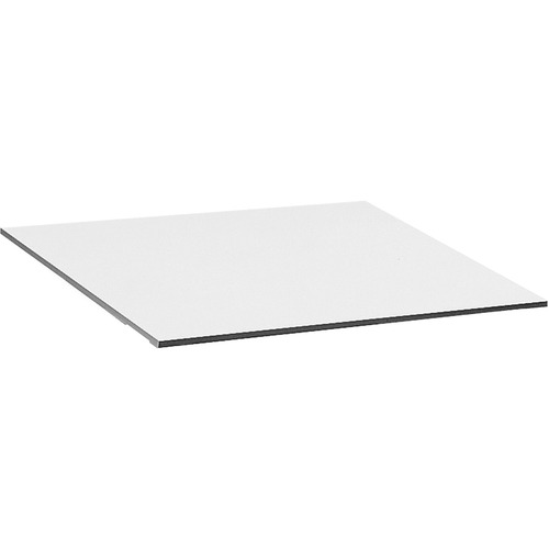 """Safco Vista Adjustable Drafting Table Top - Melamine Rectangle, White Top - 36"""" Table Top Length x 48"""" Table Top Width x 0.8"""" Table Top Thickness - Assembly Required"""