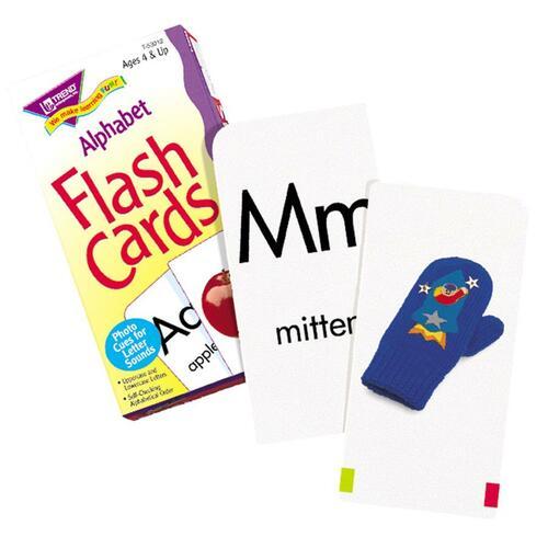 Trend Alphabet Flash Cards - Educational - 1 Each