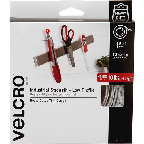 90199 Velcro Industrial Strength Sticky-Back Hook /& Loop Fastener Strips