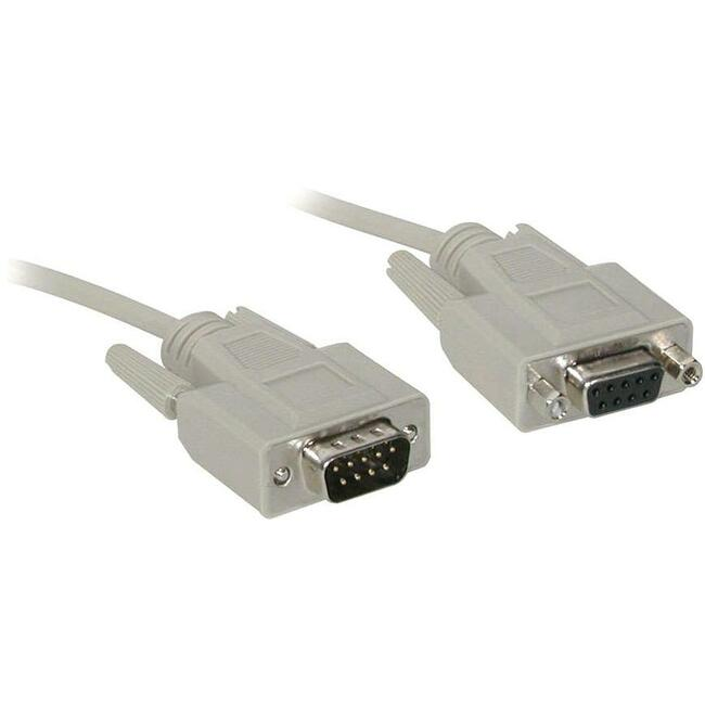 6FT CABLE SER MSE AT EXTENSION DB9M DB9F