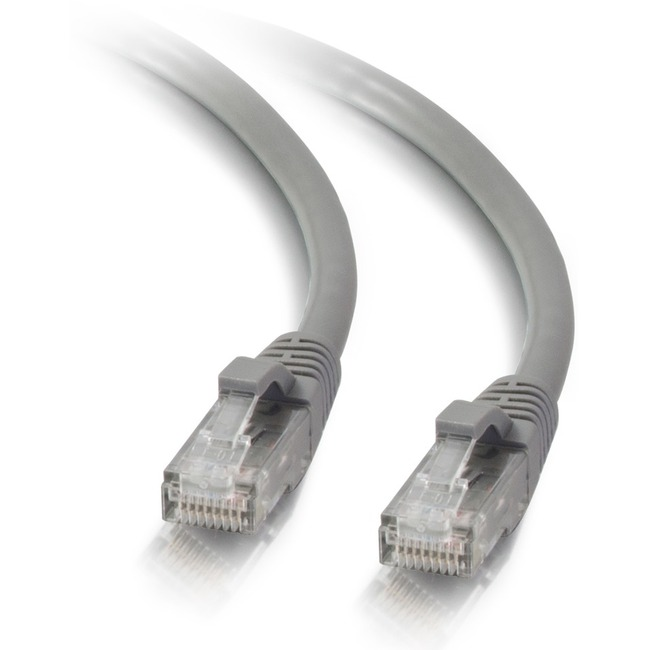 3ft Cat5e Snagless Unshielded (UTP) Ethernet Network Patch Cable | Gray