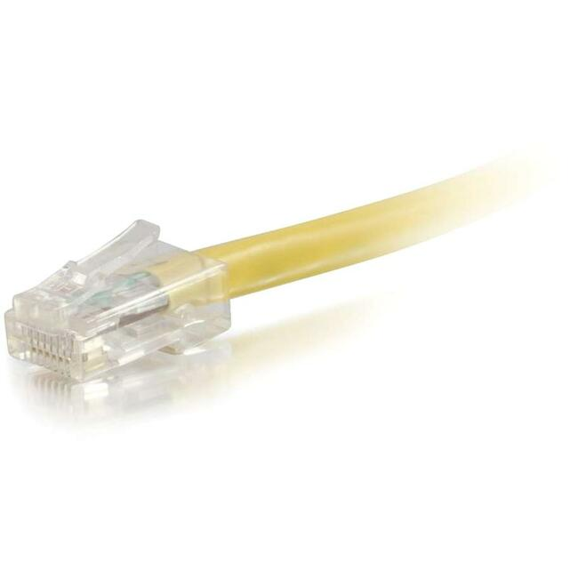 100ft Cat5e Non-Booted Unshielded (UTP) Network Patch Cable - Yellow