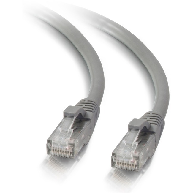 7ft Cat5e Snagless Unshielded (UTP) Ethernet Network Patch Cable | Gray