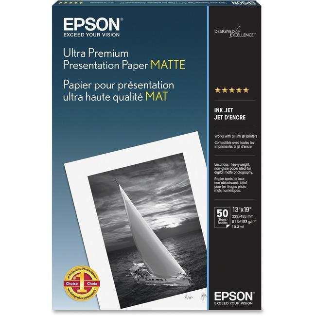 Archival Matte Paper - White - Epson Stylus Photo 2000P , Pro 7500 ,Pro 9500