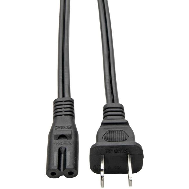 6-ft. Notebook AC Power Adapter Cord, NEMA1-15P to Notebook IEC-320-C7