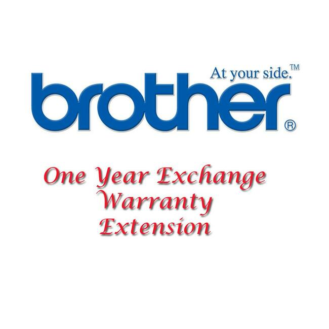 Brother Exchange Service - 1 Year - Service
