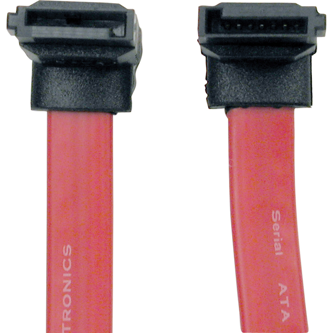 Tripp Lite 19in Serial ATA SATA Right Angle Signal Cable 7Pin-Up / 7Pin-Down