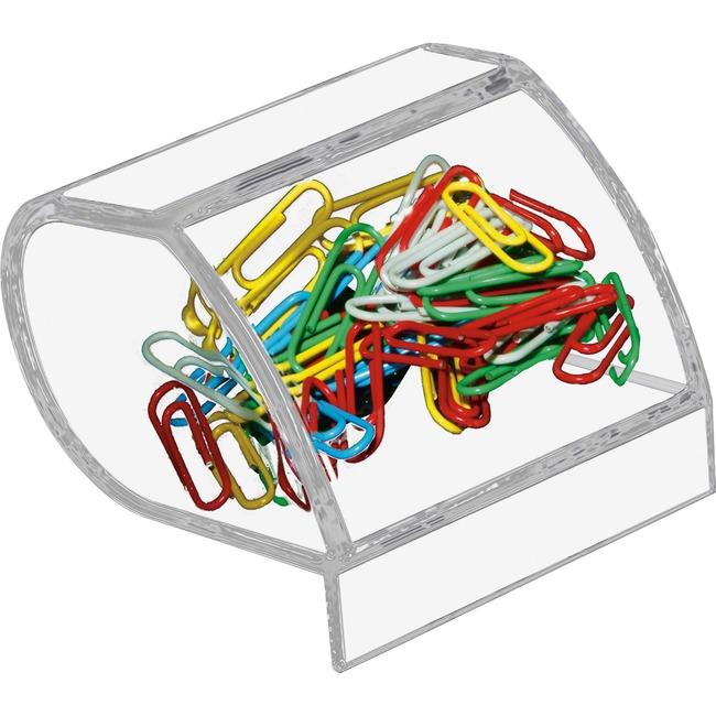 Kantek Acrylic Paperclip Holder