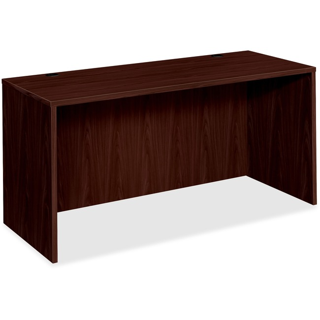 HON Bow Front Desk Shell, 60