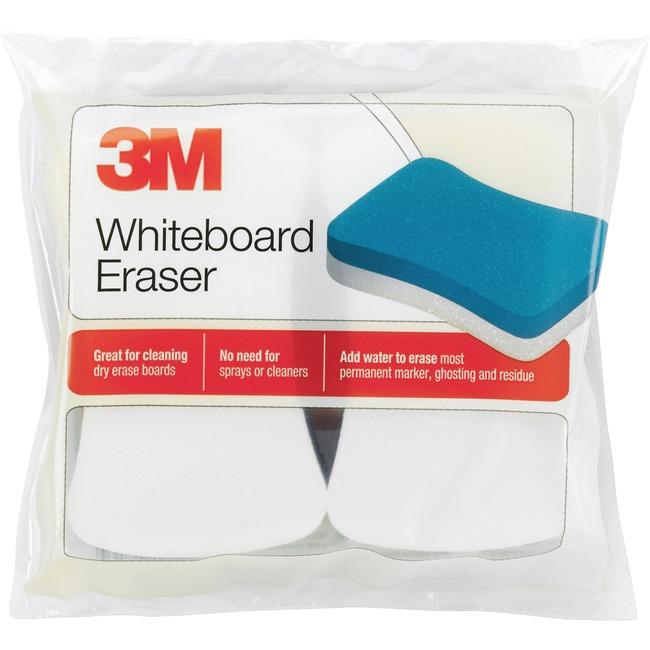 3M™ Whiteboard Eraser for Whiteboards, 2/Pack