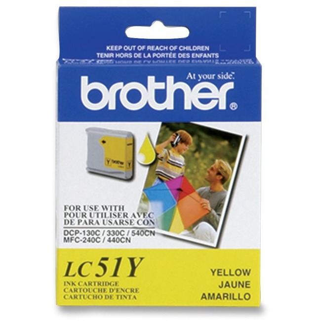 BROTHER - SUPPLIES YELLOW INK CARTRIDGE