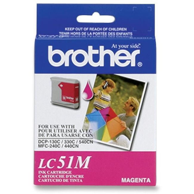 BROTHER - SUPPLIES MAGENTA INK CARTRIDGE