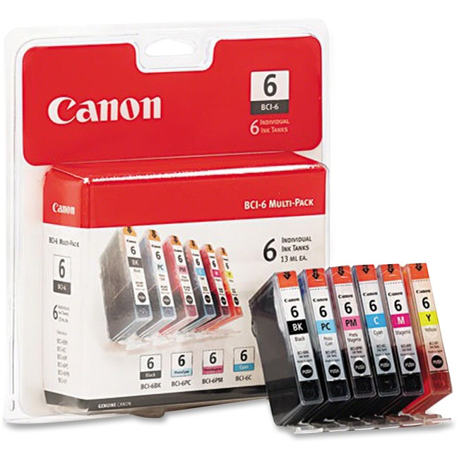 Canon BCI BCI-6 Ink Cartridge 4705A018 - Large