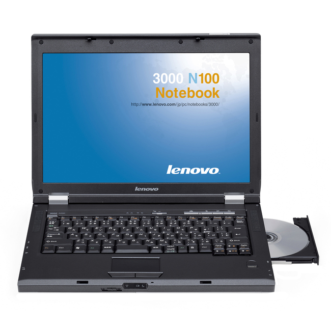 "Lenovo N100 0768AJX 15.4"" (VibrantView) Notebook - Intel Core 2 Duo T7200 2 GHz"