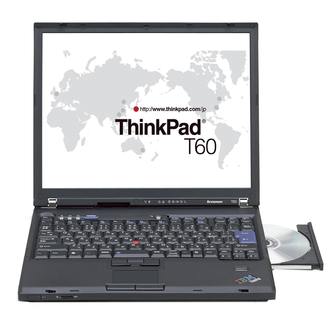 "Lenovo ThinkPad T60 15.4"" Mobile Workstation - Intel Core 2 Duo T7600 2.33 GHz - Black"