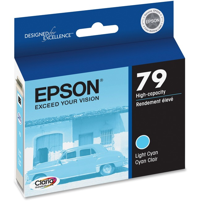 Epson 79 High-Capacity Light Cyan Ink Cartridge