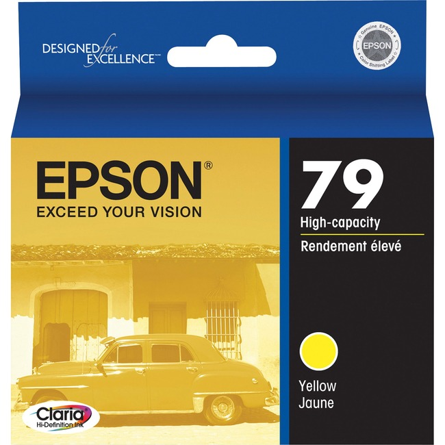 Epson 79 High-Capacity Yellow Ink Cartridge