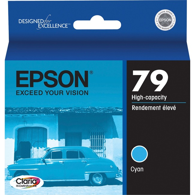 Epson 79 High-Capacity Cyan Ink Cartridge