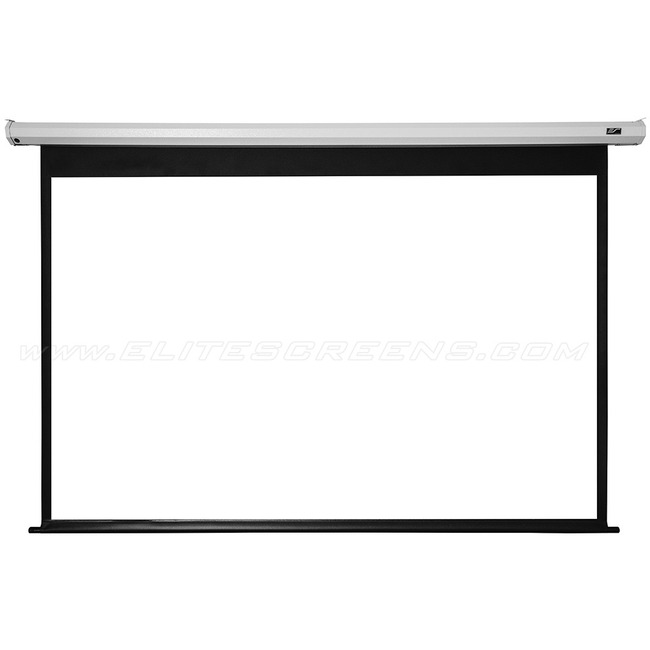 """Elite Screens Electric120V Spectrum Ceiling/Wall Mount Electric Projection Screen (120"""" 4:3 Aspect Ratio) (MaxWhite)"""