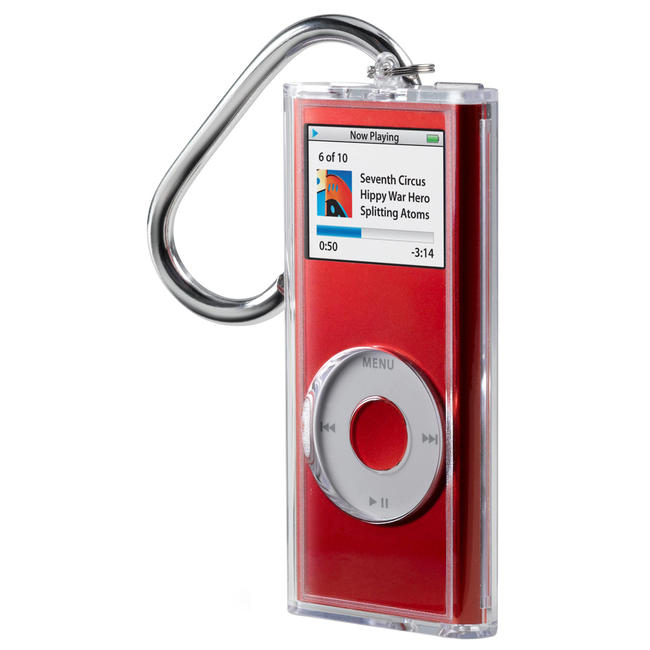 Belkin Acrylic Case for iPod nano with Carabiner Clip