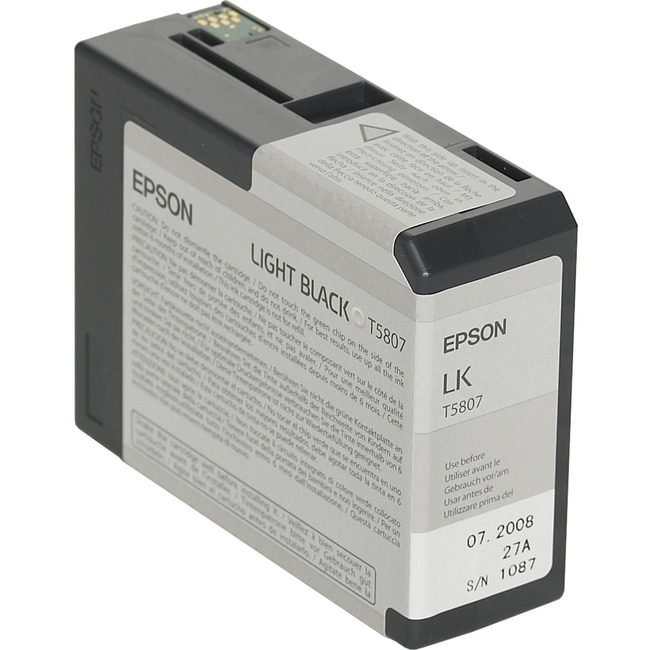 Epson UltraChrome T5808 Ink Cartridge - Matte Black