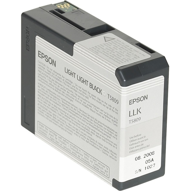 Epson UltraChrome T5809 Ink Cartridge - Light Light Black