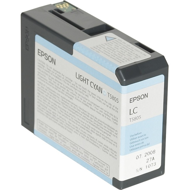 Epson UltraChrome T5805 Ink Cartridge - Light Cyan