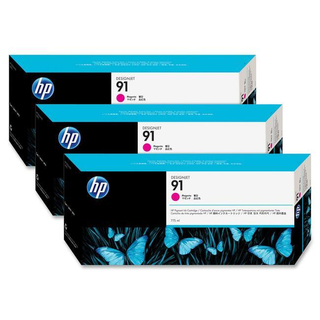 HP 91 Multipack Magenta Ink Cartridge