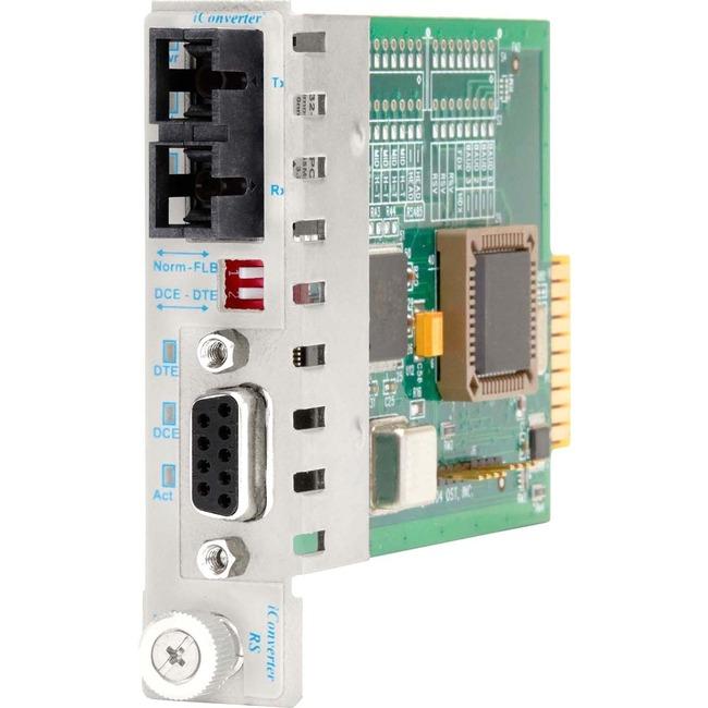 Omnitron iConverter RS232 8762-0-x Transceiver/Media Converter - Large