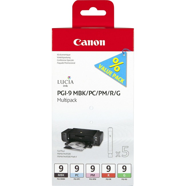 Canon PGI-9 Ink Cartridge - Photo Black