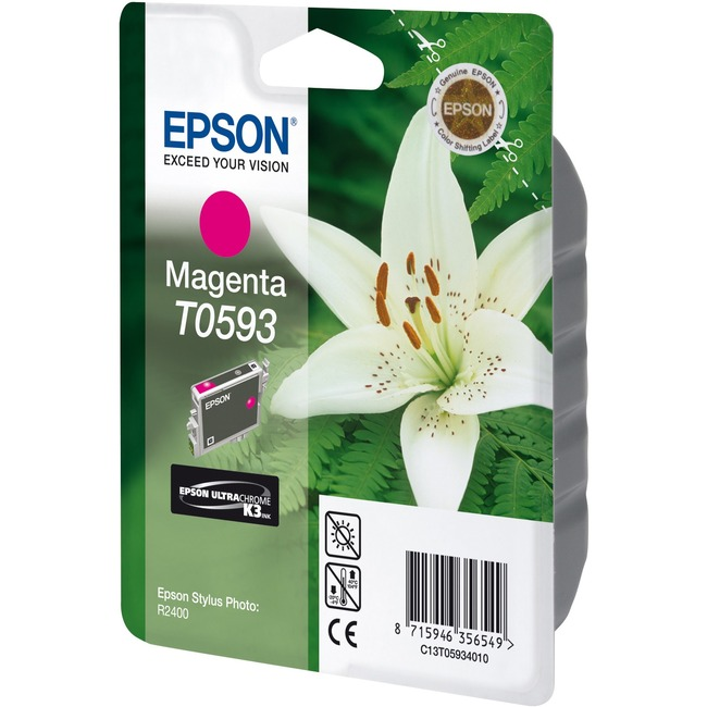 Epson T0593 Ink Cartridge - Magenta