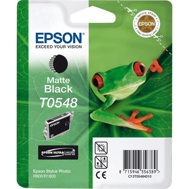 Epson UltraChrome T0548 Ink Cartridge - Matte Black